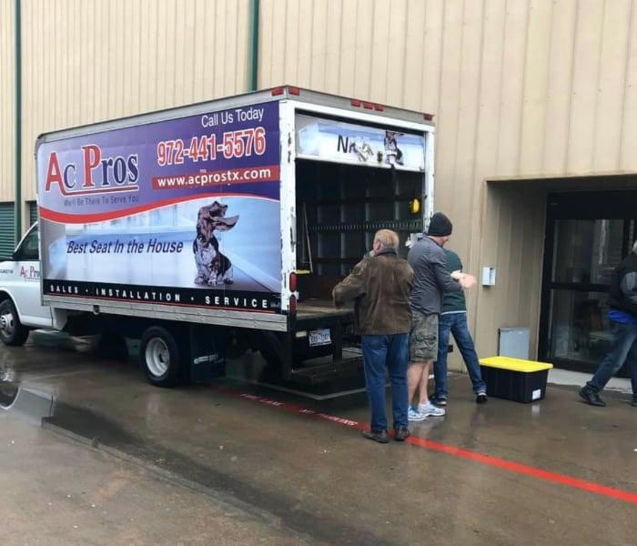 Ac Pros Truck Unloading